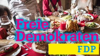 Weihnachtsessen FDP Stadtverband