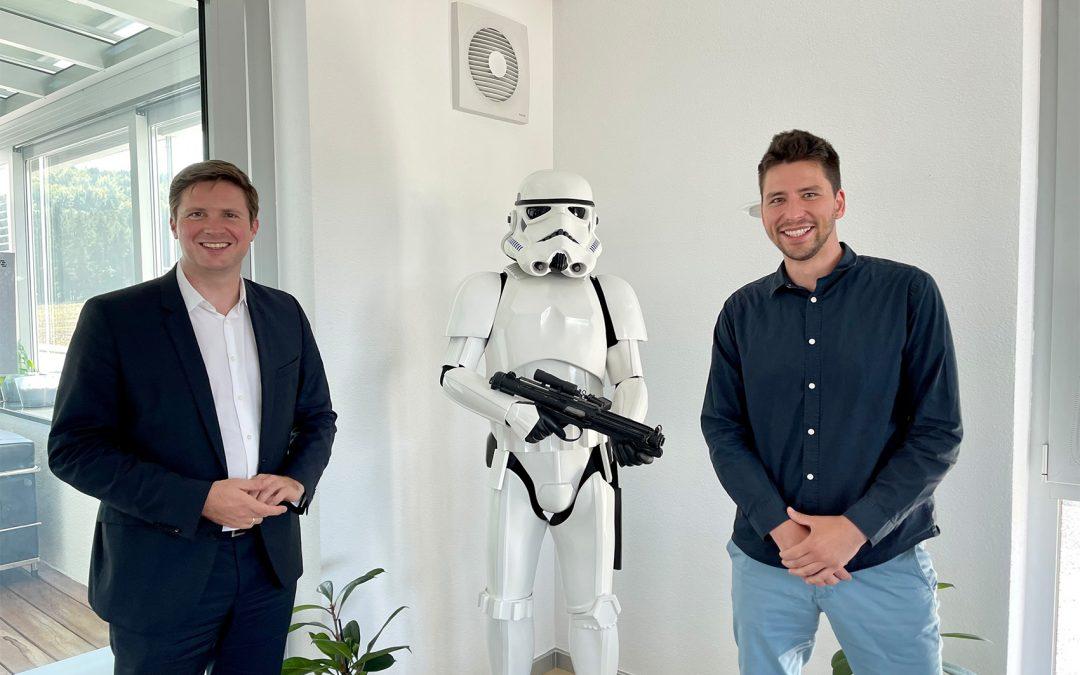 FDP Besuch bei der Firma STORMING in Warmbronn